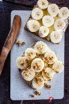 Madam Rote Rübe - Butterbrot mit Banane und Buchweizenkrokant