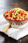 """Ein köstlicher Sattmacher: Weiße-Bohnen-Salat """"Bunte Vielfalt"""""""