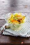 Delikater Weißkrautsalat mit Birne und Orange – die Rohkost-Vitaminbombe