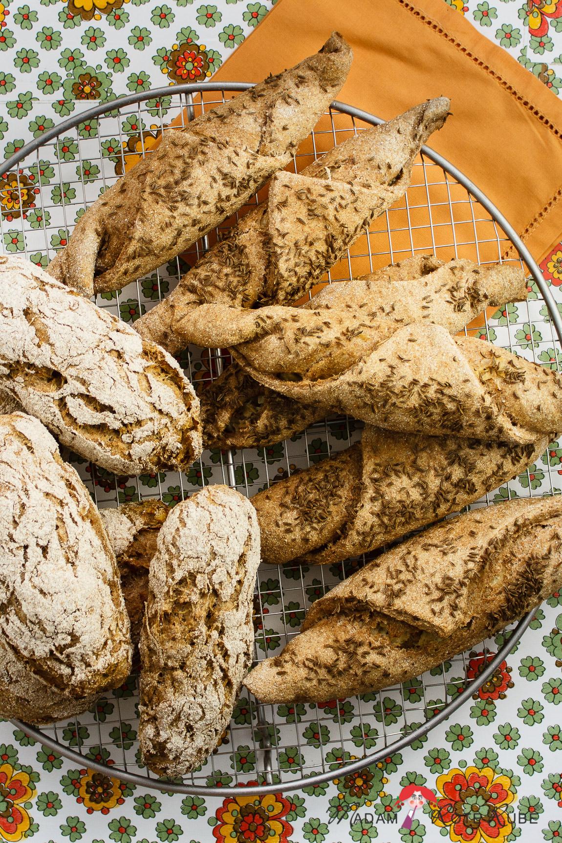 Pikante Sauerkraut-Stangen & -Baguettebrötchen aus der Landküche ...