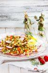 Radieschencarpaccio mit Gemüsesauce & das Frühlingserwachen beginnt