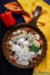 Gerösteter Blumenkohlsalat mit Banane, Limette & Pinienkerne