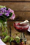Zuckerfreier Brombeer-Fruchtaufstrich mit Vanille & Mandeln