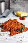 Knusper-Parmesan-Tomaten-Knäcke mit Rosmarin, der würzige Snack