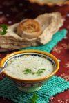 Cremige Sellerie-Grünkernsuppe – kalte Luft macht hungrig