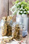 Glutenfreies skandinavisches Korn-Knäckebröd Majsmjöl – der knackig-knusprige Knabberspaß