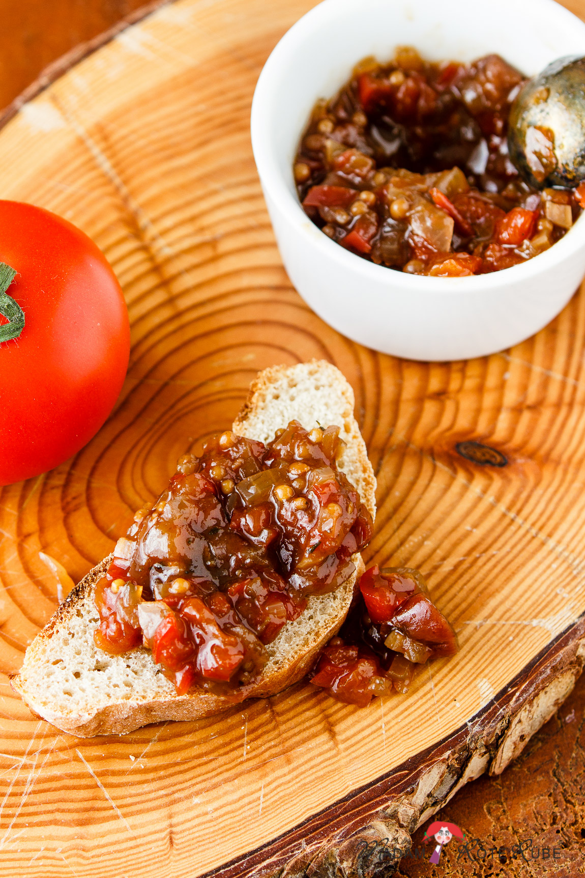 Madam Rote Rübe - Tomaten-Paprika-Chutney