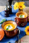 Möhrencremesuppe mit Zitronenmelisse – manchmal sind die einfachsten Gerichte einfach nur gut