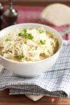 Zarter Weißkrautsalat nach bayrischer Art aus der Winterküche