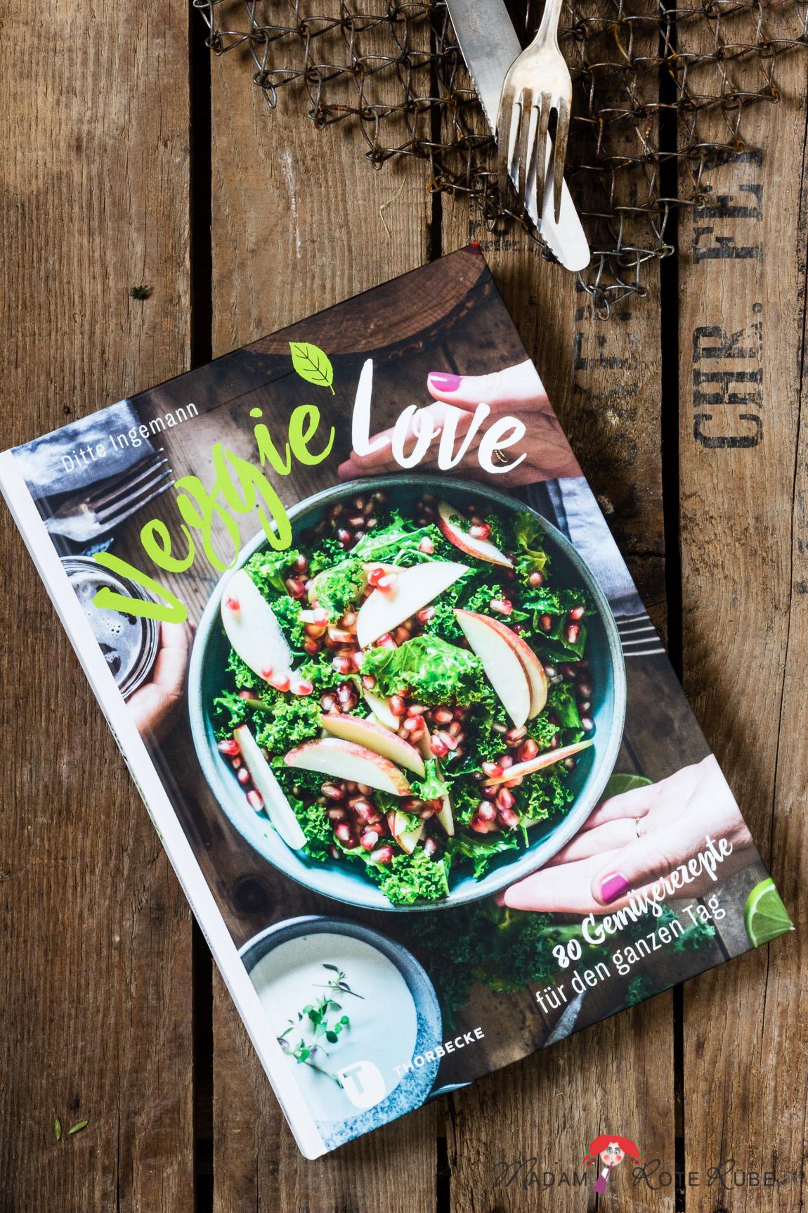 """Kochbuch-Vorstellungen: """"Veggie Love"""" von Ditte Ingermann"""