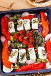 Mediterranes Ofengemüse mit Schafskäse-Feta – ohne Aufwand schnell auf dem Tisch