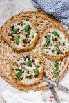 Madam Rote Rübe - Partyknaller: Minifladen mit Gorgonzolacreme und getrockneten Tomaten