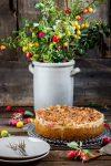 Frisch gepflückt in verwilderten Streuobstwiesen – Mirabellen-Käsekuchen mit Streusel