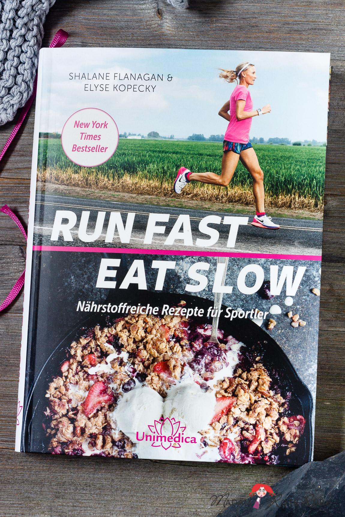 Kochbuch-Vorstellungen: Run Fast Eat Slow