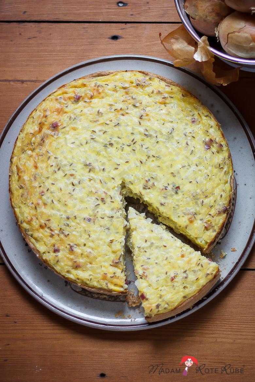 Madam Rote Rübe - Pfälzer Zwiebelkuchen
