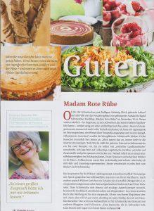 Pfalz Club Magazin schreibt über Madam Rote Rübe
