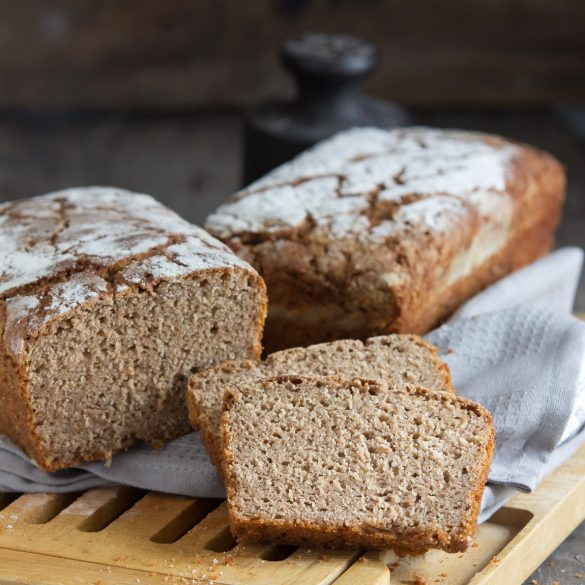 Emmer-Sauerteig-Brot mit Joghurt - eine alte Getreidesorte liegt im Trend