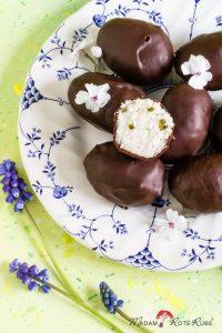 Madam Rote Rübe - Kokosnuss-Pralinen: eine Osternascherei