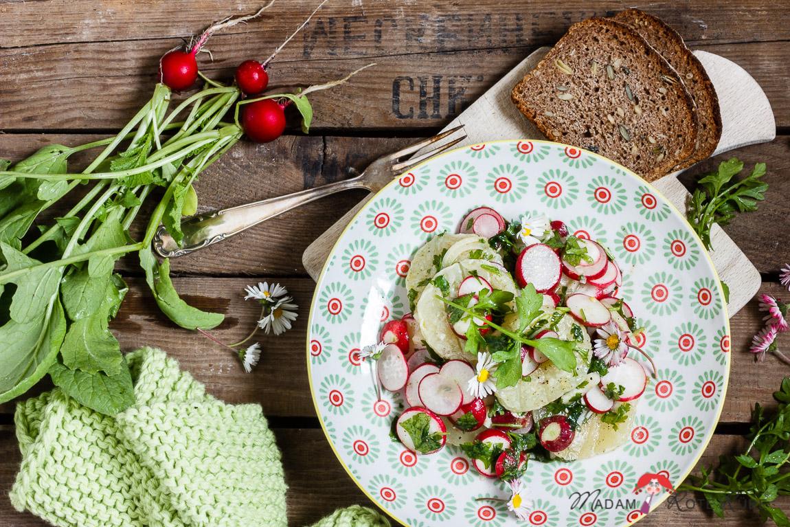 harzer käse salat
