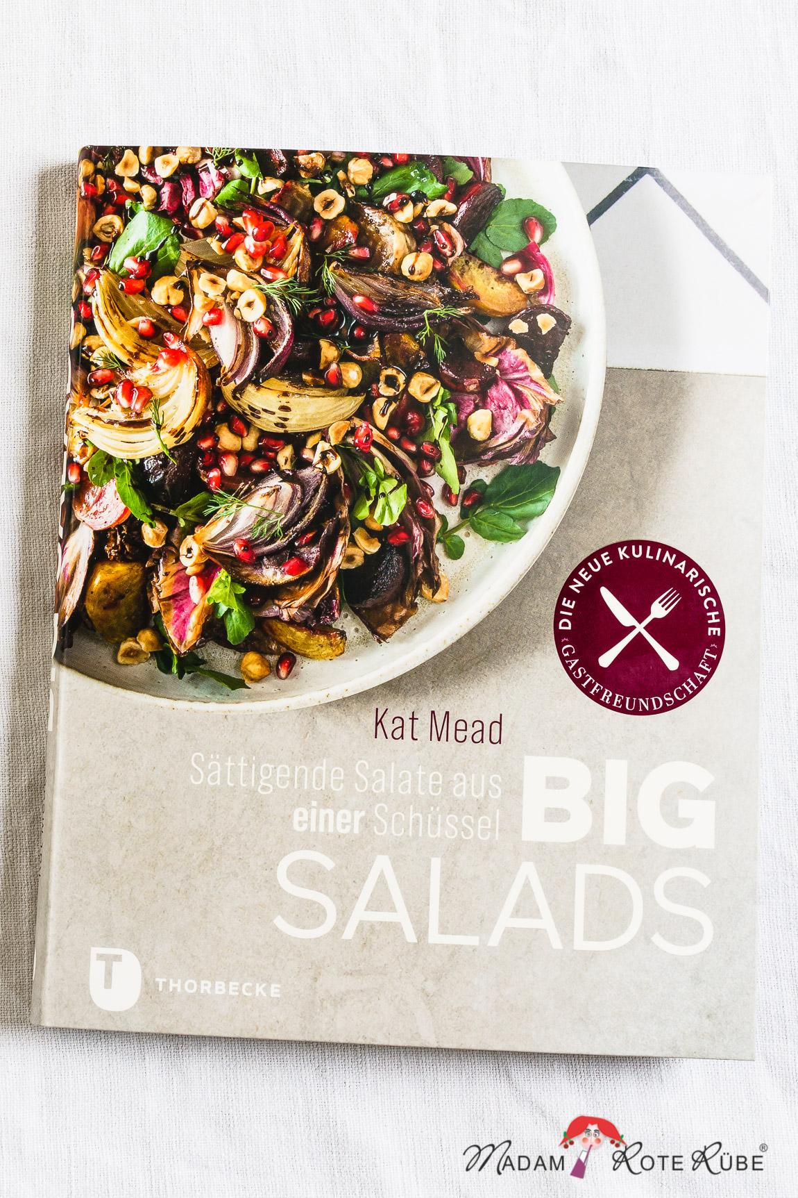 """Madam Rote Rübe - Buchrezension """"Big Salads"""" von Kat Mead"""