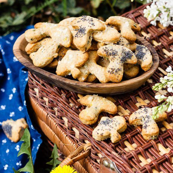 Madam Rote Rübe - Käse-Dinkelvollkorn-Kekse