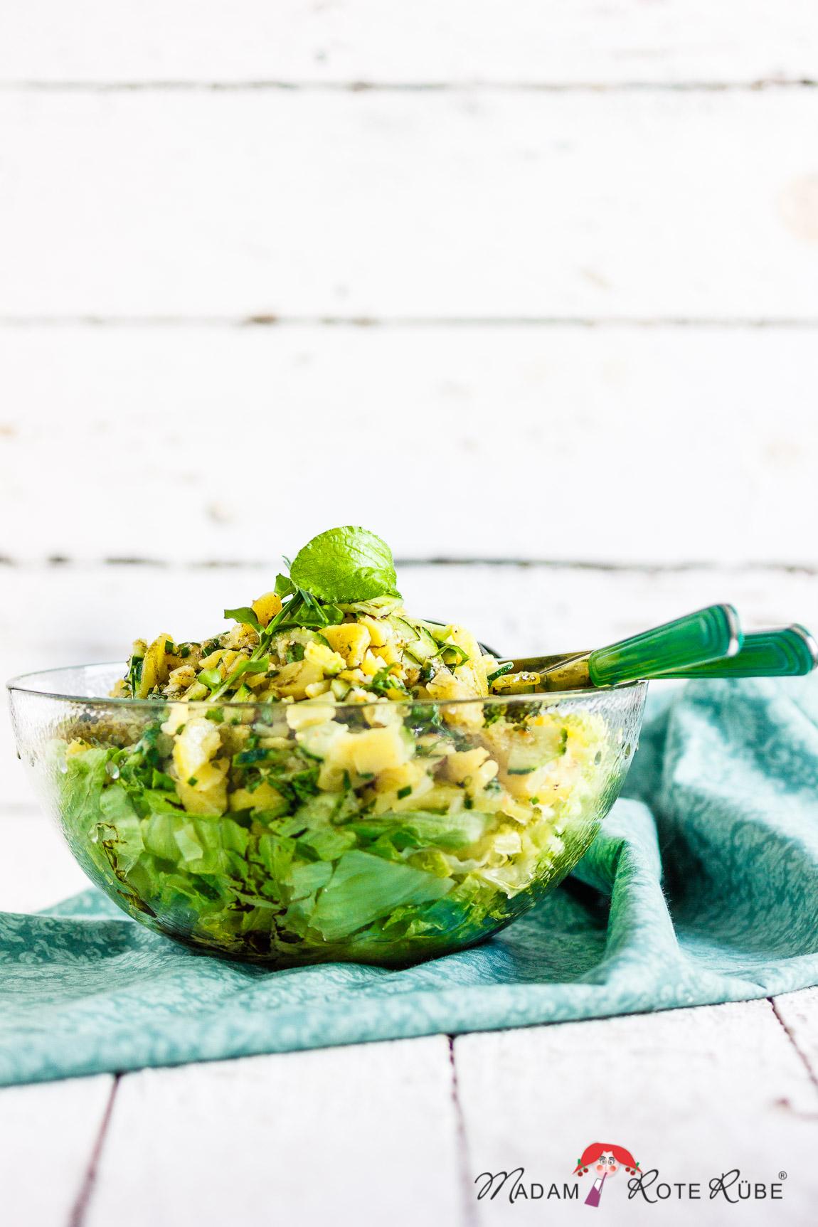 Madam Rote Rübe - Steirischer Kartoffel-Gurken-Salat