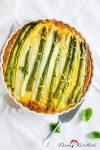 Zitronige Spargel-Quiche mit Bergkäse und Dinkelvollkorn