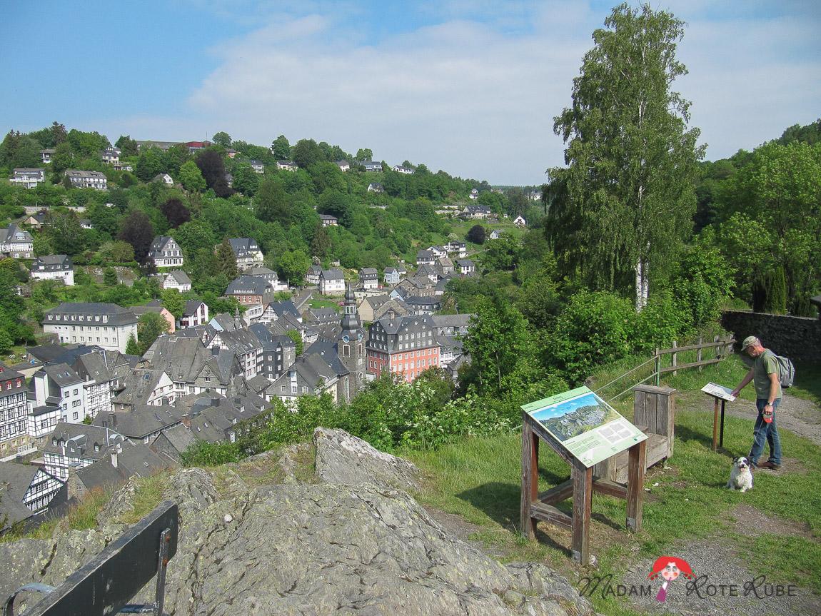 Madam Rote Rübe - Ausflug nach Monschau/Eifel
