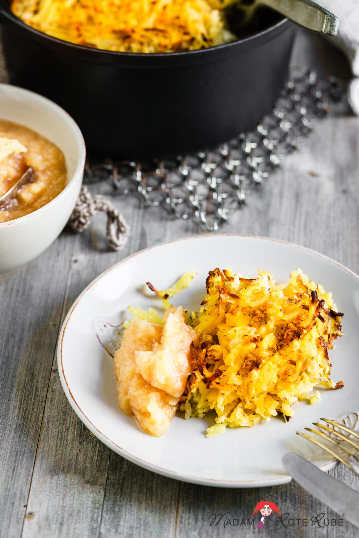 Madam Rote Rübe - Eifeler Döppekooche - Kartoffelkuchen aus dem gusseisernen Topf