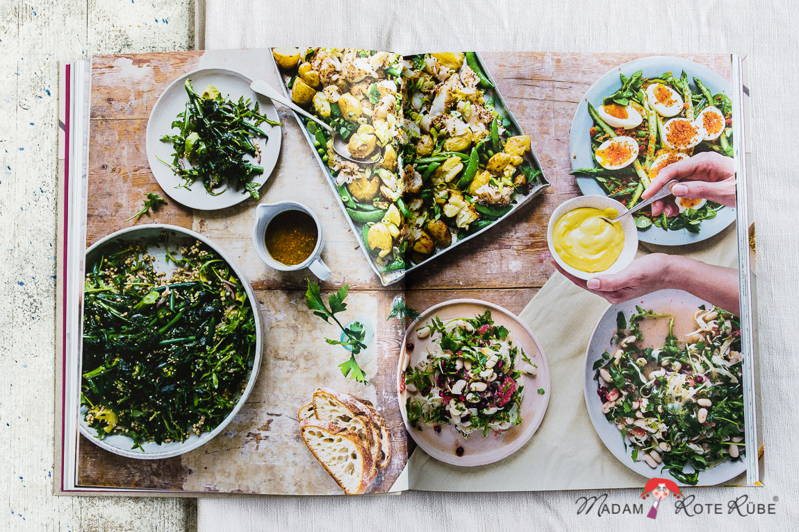 """Madam Rote Rübe - Avocado, Ei & Kopfsalat und eine Buchrezension """"Big Salads"""""""