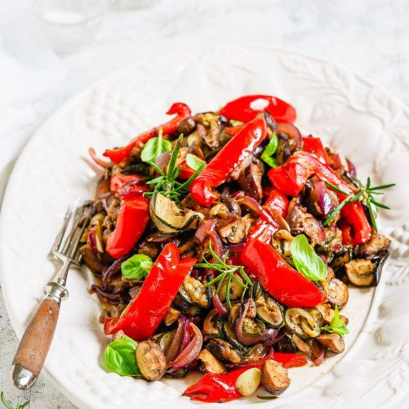 Antipasti-Salat - Madam Rote Rübe