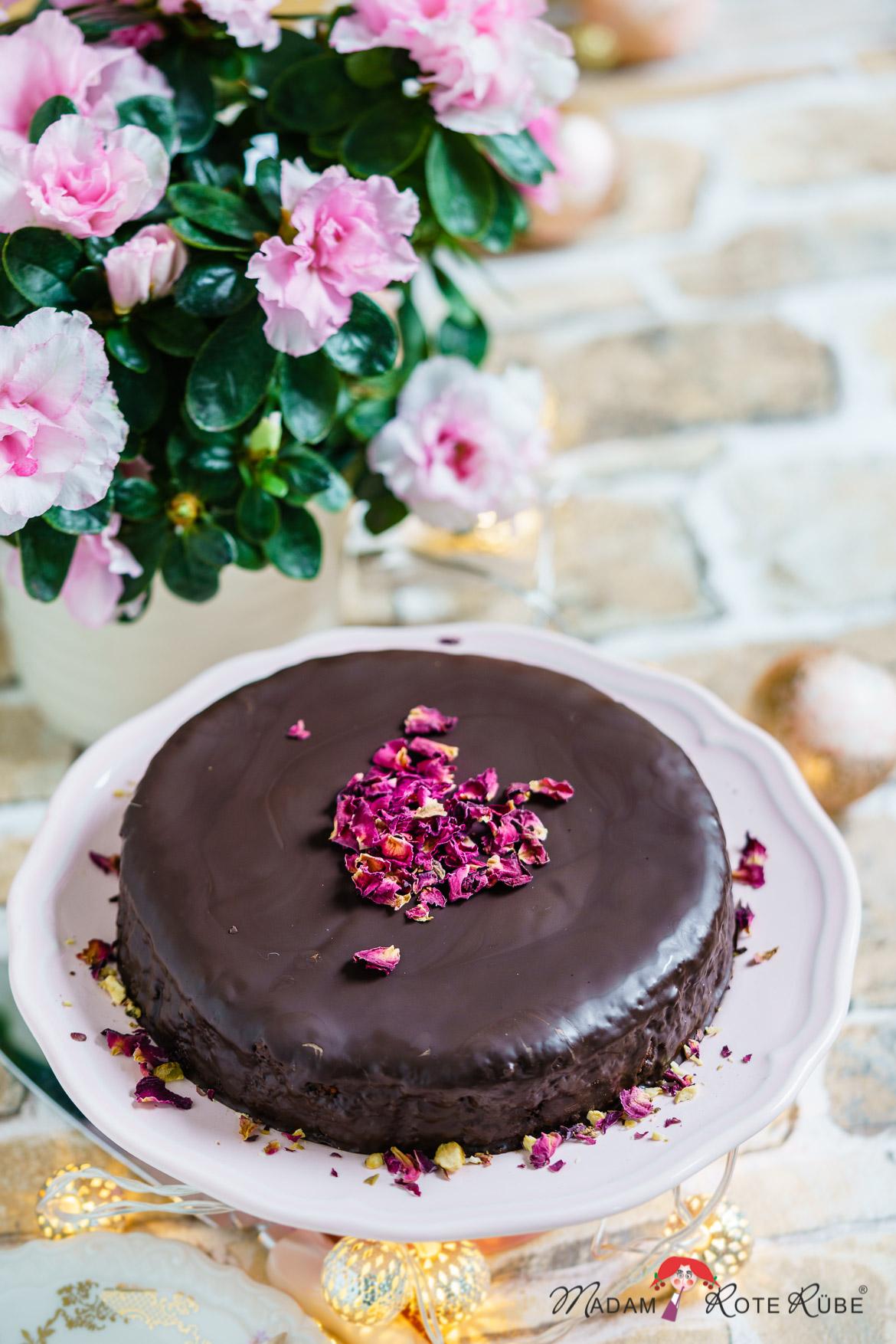 Madam Rote Rübe - Schokoladenkuchen