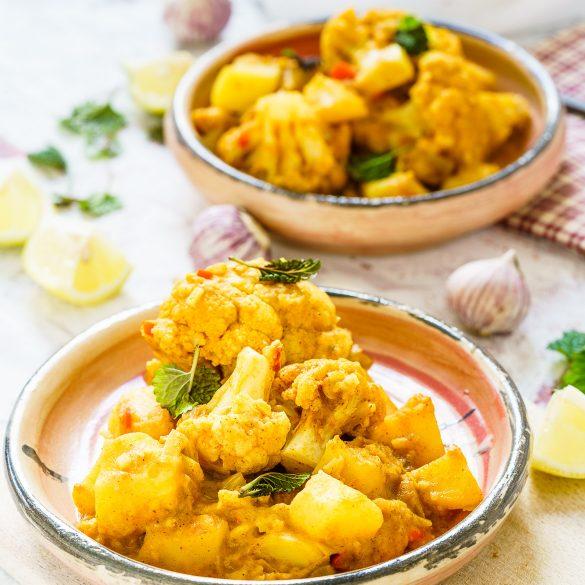 Madam Rote Rübe - Blumenkohl-Curry mit Kartoffeln
