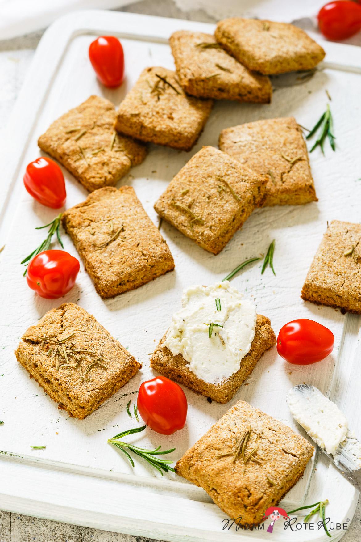 Madam Rote Rübe - Butterige Sandwich-Vollkornkekse mit Sauerteigstarter